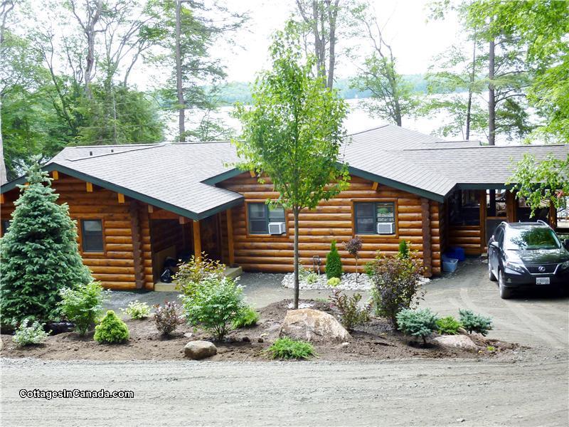 luxury log retreat parry sound cottage rental di 12081 rh cottagesincanada com parry sound cottage rentals kijiji parry sound ontario cottage rentals