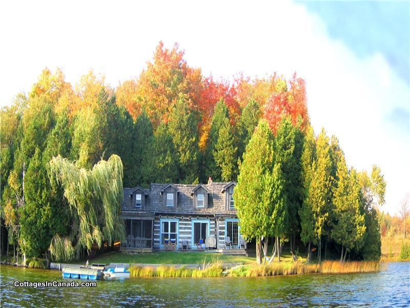 Beautiful Quebec Log Chink Cottage Flesherton Cottage