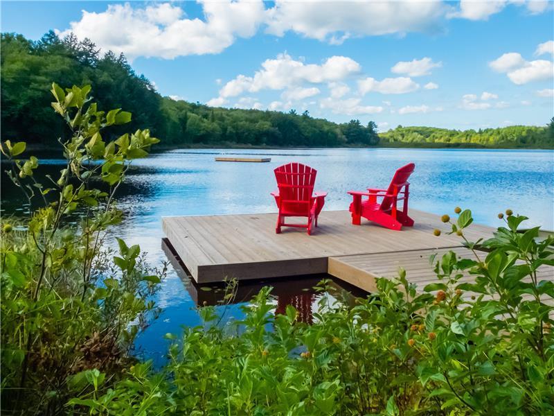 Pet Friendly Waterfront Cottage Mactier Cottage Rental