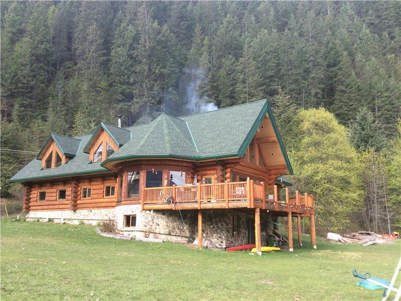 Lardeau Bay Lodge On Kootenay Lake Kaslo Cottage Rental