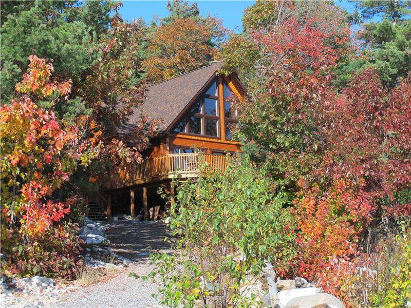 Astonishing Georgian Bay Log Home Killarney Cottage For Sale Fs Download Free Architecture Designs Jebrpmadebymaigaardcom