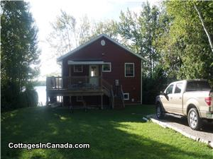 Easy access to the Cottage from Miller Lake Shore Road