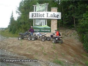 Elliot Lake sign