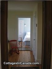View from hall, through Single Bedroom, to second Queen Bedroom