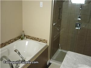 Ensuite BR - soaker tub & custom shower