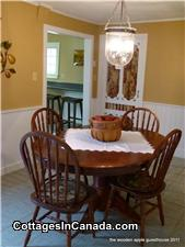 Spacious Country Style Dining Room