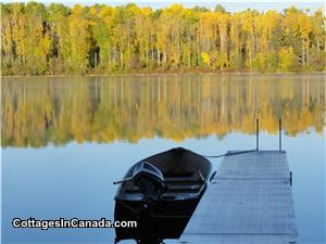 Dock in Autumn (Wonderful Peaceful Time)