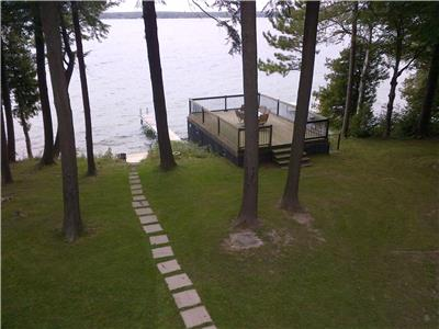 Big Bay Point Lake Simcoe waterfront cottage