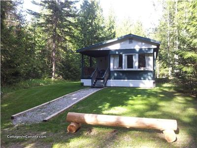 Harrop Hideaway Nelson Kootenay Lake Hot Springs Zipline Hiking Swimming Biking Nelson Accommodation