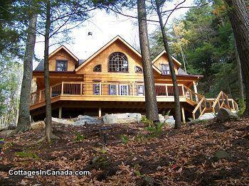 Redstone Ridge - True North Log Home - PLEASE link to OWNER's website under 'contact'