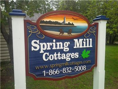 Spring Mill Cottages with A/C near Beach