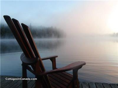 Small Group Midweek Rate 175/Ngt (Inclusive) c/w Algonquin Pass, Canoe,& WiFi!