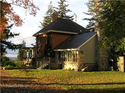 Winery Farm House near Picton,  Prince Edward County