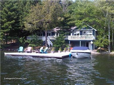 Lake Joseph Beautiful Southern Exposure - Muskoka Cottage