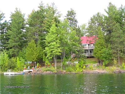 Chalet Lac Roddick (Grand Lac Rond)