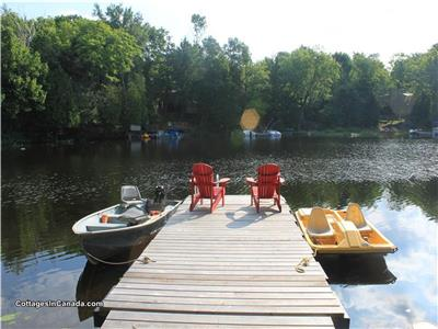 Family Friendly Cottage on Lake Manitouwabing