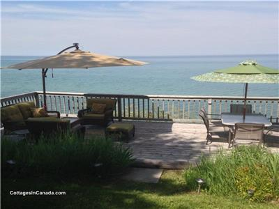 GRAND BEND LUXURY WATERFRONT SUNVIEW COTTAGE book a romantic weekend getaway