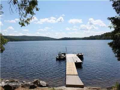 Brown's Hideaway located on Norcan Lake near Calabogie,Ont.