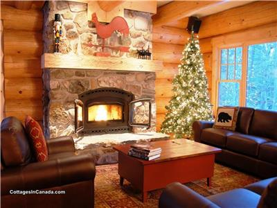 Chalet Scandinave Tremblant luxurious 6bdr. SPA / Ski / Waterfront