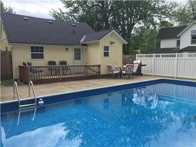 Beach Cottage with Inground Pool - 20 Minutes from Niagara Falls