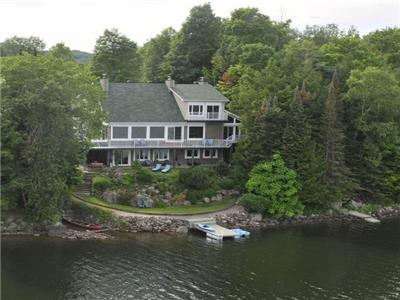 WATERFRONT DREAM HOME: 1-hr Ottawa.  Fully self-contained Pvt 2 BR Guest Suite or established rental