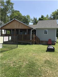 Cottage # 3, fully renovated nearly 800 square feet, 2 bedrooms, 500 square feet open concept