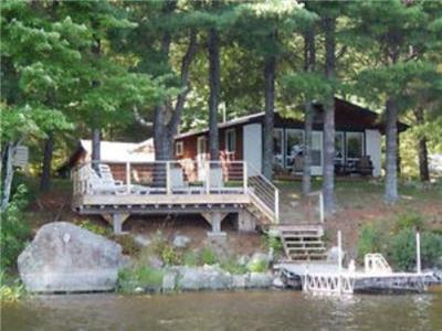 Cottage on the French River in Alban, Ontario (Ranger Bay)