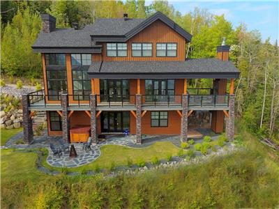 Ilaali: for a dream view on the St-Lawrence River in Charlevoix and all-season comfort.