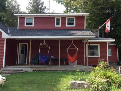 Port Albert Cottage Rental-located on the Nine Mile River, just steps from Lake Huron