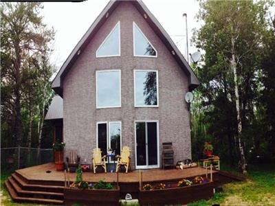 Beautiful Chalet located near Sandilands Provincial Forest in Marchand, Manitoba Canada