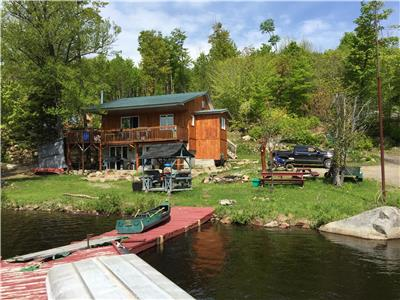 YOUR OWN LAKEFRONT PROPERTY ONSIDE LAKE DU BARRAGE WITH MUTI OPTION