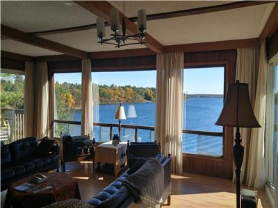 Solklint on Shawanaga Bay  Commanding views and marvelous swimming, boating, fishing, exploring and