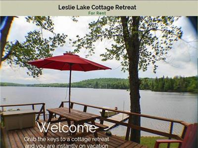 Lakefront Cottage, 15 beds, (7 in winter)  Campbell's Bay QC - Perfect for family reunions