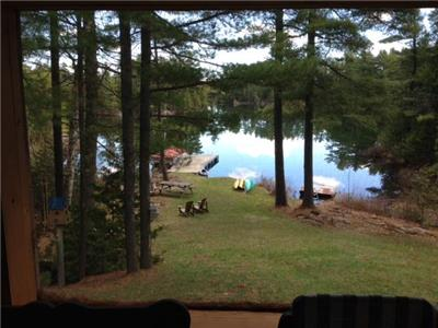 Robertson Lake, Lanark Highlands, Private Clean Spring fed lake lots of wild life and privacy.