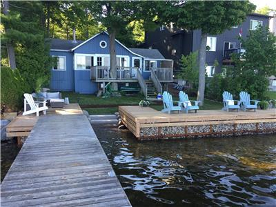Beautiful Cottage on the shores of Georgian Bay, 3 bedroom plus bunkie, $2,500 weekly (sat-sat)