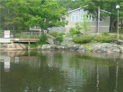 Honey Harbour Georgian Bay Island Cottage for Sale