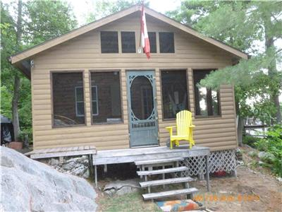 Picturesque Waterfront Property on Tyson Lake near Killarney