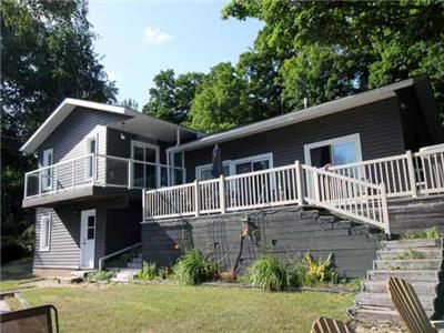 Gorgeous water front 3 bed, 3 bath home/cottage on Lake Rosalind, in the Township of Brockton.