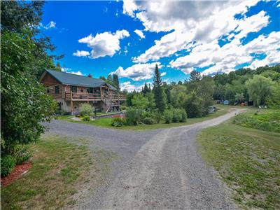Waterfront Country Paradise on Over 140 Acres of Land in Lanark