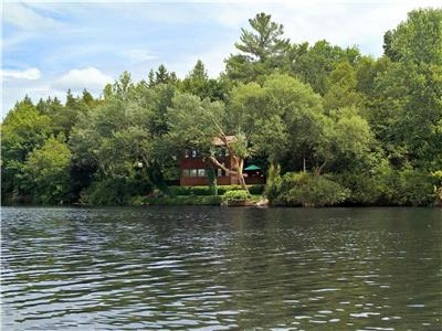 Otonabee River Cottage: Your secluded year-round getaway