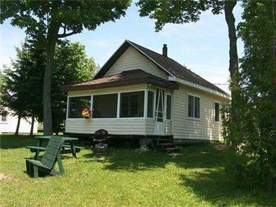 Maple Grove Cottages , lakefront, lakeview, two bedroom, playground, beach, manitoulin island