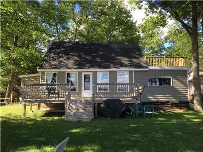 Beautiful 3 bedroom winterized home for sale on the Ottawa River across from Pembroke.