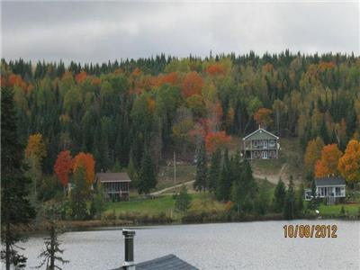 Mechanic Lake Lodge # two is as quiet and peaceful as the original one and a beautiful view!!!