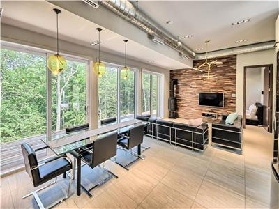 Bel Air Aspen, Luxurious Mini loft, Tennis, Pool, Gym, Kids Room, Full spa, Bar, 1mn of Lac Mercier