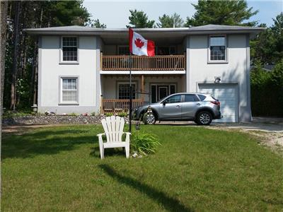 The Beach House  OCTOBER 1ST/18 TO APRIL.FOR LEASE(SKI SLOPS BLUE MOUNTAIN)SNOWMOBILE TRAILS NEAR.