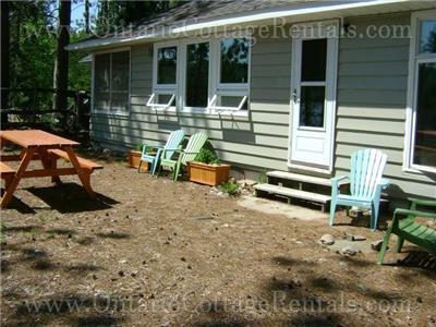 OCR - The Beach House (F328) on Sand Lake, Near Kearney, Ontario, Algonquin Park