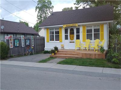 The Banana Cabana! New listing Aug 1/17. Is a 4 minute walk to beach! Super clean and spacious!