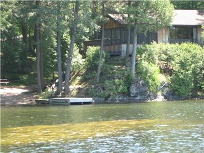 Charleston Lake, Waterside Retreat. July 7 to July 14 Available plus September Bookings (discounted)