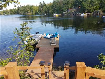 Black Lake Beauty!  Renovated 3 bedroom cottage ideally located between Perth and Westport.