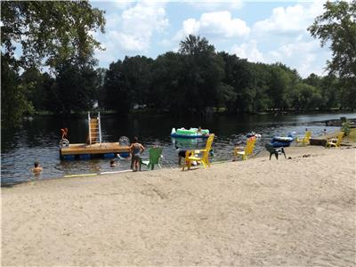 CROWE VALLEY CAMPGROUND 1, 2 and 3 bedroom cottages in Downtown Marmora. Sandy Beach and lots more!!
